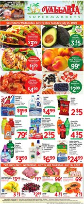 Vallarta Supermarkets catalogue in San Diego CA ( Published today )