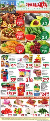 Vallarta Supermarkets catalogue in Fresno CA ( 2 days left )