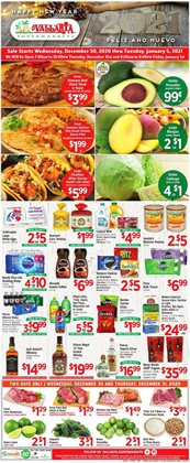 Vallarta Supermarkets catalogue in San Diego CA ( Expired )