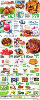 Grocery & Drug deals in the Vallarta Supermarkets catalog ( Expires today)