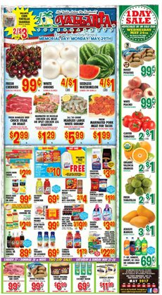 Vallarta Supermarkets deals in the Fresno CA weekly ad