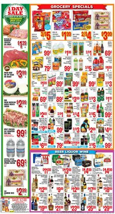Pizza deals in the Vallarta Supermarkets weekly ad in Los Angeles CA