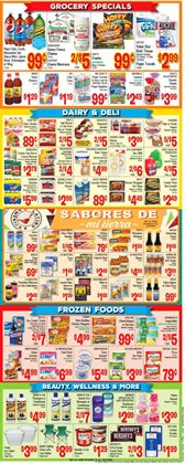 Vallarta Supermarkets deals in the West Hollywood CA weekly ad