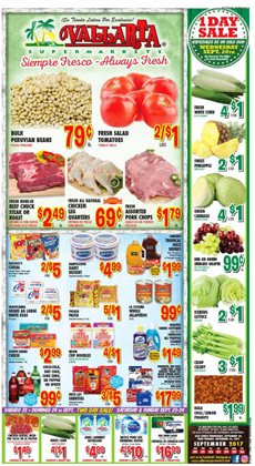 Vallarta Supermarkets deals in the 4S Ranch CA weekly ad