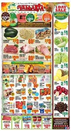 Vallarta Supermarkets deals in the Bakersfield CA weekly ad