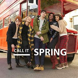 Call it Spring catalogue ( Expired )