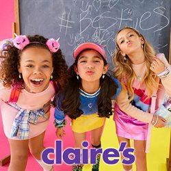 Claire's catalogue ( Expired )