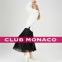 Club Monaco deals in the New York weekly ad