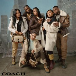 Clothing & Apparel deals in the Coach catalog ( Published today)