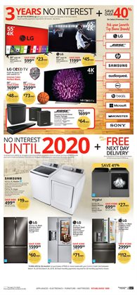 TV deals in the Conn's Home Plus weekly ad in Humble TX