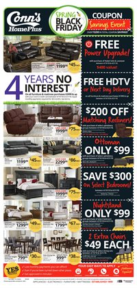 Conn's Home Plus deals in the Fort Worth TX weekly ad
