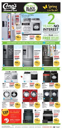 Conn's Home Plus deals in the El Paso TX weekly ad