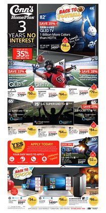 Electronics & Office Supplies deals in the Conn's Home Plus weekly ad in Memphis TN