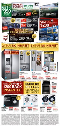 TV deals in the Conn's Home Plus weekly ad in Bessemer AL