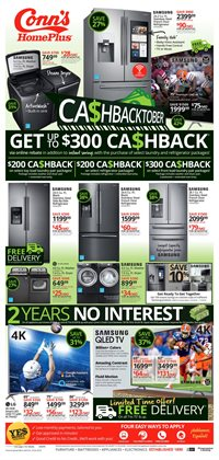 TV deals in the Conn's Home Plus weekly ad in Mission TX