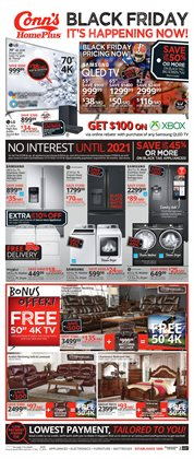 TV deals in the Conn's Home Plus weekly ad in Tucson AZ