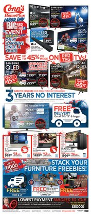 Electronics & Office Supplies deals in the Conn's Home Plus weekly ad in Las Vegas NV