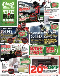 Electronics & Office Supplies deals in the Conn's Home Plus weekly ad in Metairie LA