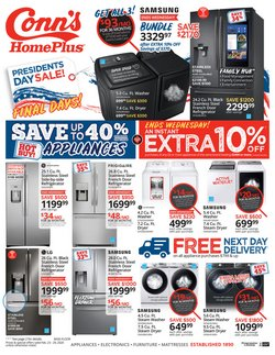 Electronics & Office Supplies offers in the Conn's Home Plus catalogue in Conroe TX ( Expires tomorrow )