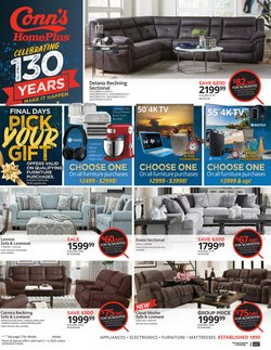 Electronics & Office Supplies offers in the Conn's Home Plus catalogue in Burlington NC ( Expires tomorrow )