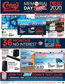 Electronics & Office Supplies offers in the Conn's Home Plus catalogue in New Orleans LA ( 3 days left )