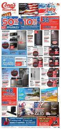 Electronics & Office Supplies offers in the Conn's Home Plus catalogue in Friendswood TX ( 3 days left )