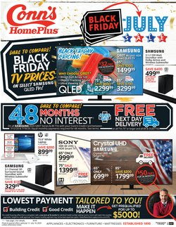 Electronics & Office Supplies offers in the Conn's Home Plus catalogue in Missouri City TX ( Published today )