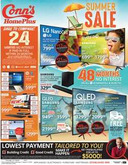 Electronics & Office Supplies offers in the Conn's Home Plus catalogue in North Las Vegas NV ( 3 days left )