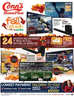 Electronics & Office Supplies offers in the Conn's Home Plus catalogue in Raleigh NC ( 1 day ago )