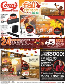 Conn's Home Plus catalogue in Houston TX ( Expires today )