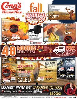 Electronics & Office Supplies offers in the Conn's Home Plus catalogue in Sugar Land TX ( 1 day ago )