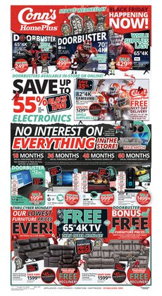 Conn's Home Plus catalogue ( Expires today )