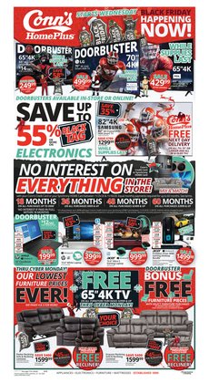 Conn's Home Plus catalogue ( Expires tomorrow )