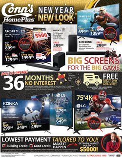 Conn's Home Plus catalogue ( Expired )