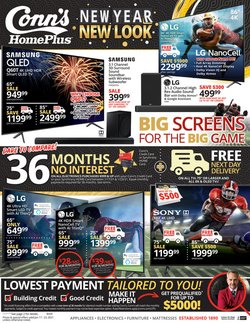 Electronics & Office Supplies offers in the Conn's Home Plus catalogue in Concord NC ( 1 day ago )