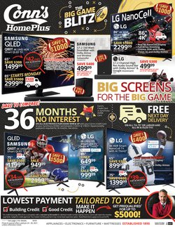 Electronics & Office Supplies offers in the Conn's Home Plus catalogue in Mebane NC ( Published today )