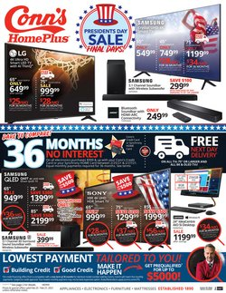 Electronics & Office Supplies offers in the Conn's Home Plus catalogue in Jackson MS ( Expires tomorrow )