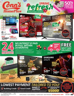 Conn's Home Plus catalogue ( 2 days left )