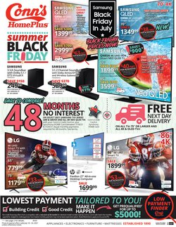 Electronics & Office Supplies deals in the Conn's Home Plus catalog ( Expires today)