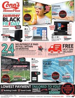 Electronics & Office Supplies deals in the Conn's Home Plus catalog ( 2 days left)