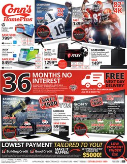 Electronics & Office Supplies deals in the Conn's Home Plus catalog ( 1 day ago)