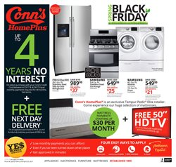 Electronics & Office Supplies deals in the Conn's Home Plus weekly ad in Dallas TX