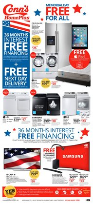 Electronics & Office Supplies deals in the Conn's Home Plus weekly ad in Houston TX