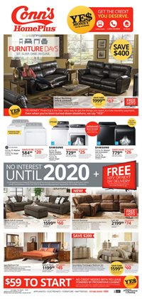 Conn's Home Plus deals in the Las Vegas NV weekly ad
