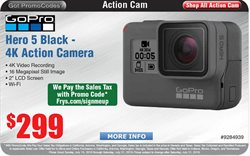 Photo camera deals in the Fry's Electronics weekly ad in Stone Mountain GA