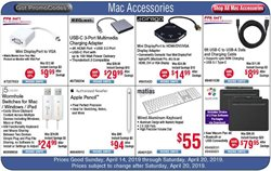 IPad deals in the Fry's Electronics weekly ad in Humble TX