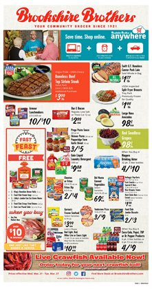 Brookshire Brothers deals in the Beaumont TX weekly ad