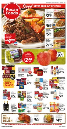 Grocery & Drug deals in the Brookshire Brothers catalog ( 4 days left)