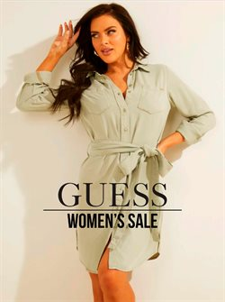 Clothing & Apparel deals in the Guess catalog ( Published today)