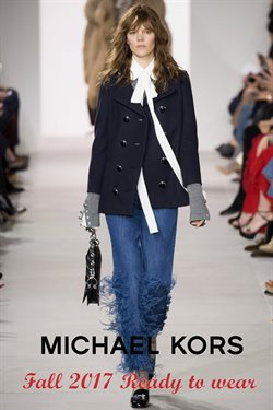 Jacket deals in the Michael Kors weekly ad in New York